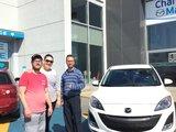 Merci de faire confiance à Chambly Mazda et bonne route avec votre Mazda 3, Chambly Mazda