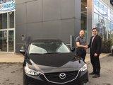 Félicitations M. Lacelle pour votre nouvelle Mazda 6 2017.  Bonne route, Chambly Mazda