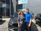 Félicitations Mme Dufour Jean pour votre nouvelle CX5 2017, Chambly Mazda
