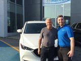 Félicitations Monsieur Bouchard pour votre nouvelle Mazda CX5 2017, Chambly Mazda