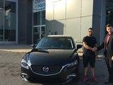 Félicitations Monsieur rousseau pour votre nouvelle Mazda 6 2017, Chambly Mazda