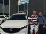 Félicitations M. Massé pour votre nouvelle Mazda CX5 2017, Chambly Mazda