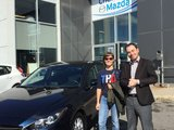 Merci à Mme Pilon de nous avoir accordé sa confiance, Chambly Mazda
