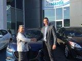 Félicitations Madame R Denis pour votre nouvelle mazda 3 GX 2018, Chambly Mazda