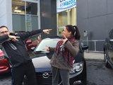 Merci Mme Lavoie de votre confiance envers Chambly Mazda, Chambly Mazda