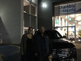 Félicitations à Monsieur Fortin et Mme Arbour Jalbert pour votre nouvelle Mazda CX9 2017, Chambly Mazda