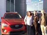 Merci Mme Lapointe de votre confiance envers Chambly Mazda , Chambly Mazda