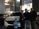 Félicitations Madame Bergeron pour votre nouveau CX5 2017, Chambly Mazda