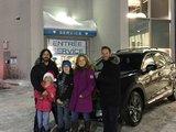 Félicitations Monsieur Bertrand et Mme Bélisle pour votre nouvelle CX9 2017, Chambly Mazda