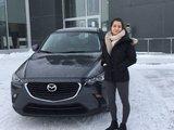 Félicitations à Stéphanie Lévesque, Chambly Mazda