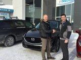 Félicitations M. Jean François Côté pour votre nouvelle CX5 2017, Chambly Mazda