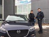 Félicitations à Monsieur Patrick Crépault Gauthier pour sa nouvelle Mazda CX3 sport 2018, Chambly Mazda