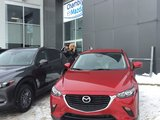 Félicitations à Madame Dupuis pour sa nouvelle mazda CX3 , Chambly Mazda