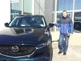 Félicitations Monsieur Deschênes pour votre nouvelle Mazda Cx5 2018, Chambly Mazda