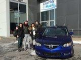 Félicitations Monsieur Doucet Couture pour votre Mazda 3, Chambly Mazda