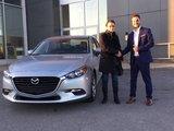 Félicitations à Madame Fournier pour sa mazda 3 2018, Chambly Mazda