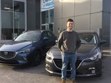 Congratulations MR Wood for tour new Mazda, Chambly Mazda
