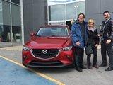 Félicitations Monsieur Van Hoenacker pour votre nouvellle CX3 2018, Chambly Mazda