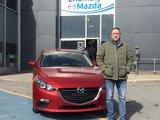 Félicitations Monsieur Kouriles pour votre nouvelle Mazda 3, Chambly Mazda