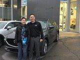 Félicitations Madame Leduc pour votre nouvelle Mazda CX5 2018, Chambly Mazda