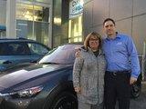 Félicitations Madame Plourde pour votre nouvelle CX3 2018, Chambly Mazda