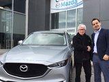 Félicitations Monsieur Larivée pour votre Mazda CX5. 2018, Chambly Mazda