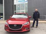 Félicitations à Monsieur Morissette pour votre Mazda 3 2018, Chambly Mazda