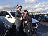 Félicitations Madame Plante pour votre nouvelle Mazda CX5 2018, Chambly Mazda