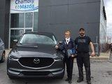 Félicitations à Madame Gauvin Scott pour son Mazda CX5 GT 2018, Chambly Mazda