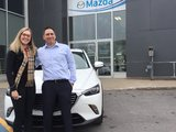 Congratulations Mrs Efford for your new Mazda CX3 GT 2018, Chambly Mazda