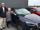 Félicitations à Monsieur et Madame Chartrand pour leur nouvelle Mazda CX3 , Chambly Mazda