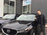 Félicitations à MonsieurMéthot pour votre nouvelle Mazda CX5 2018, Chambly Mazda