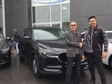 Félicitations à Monsieur Lavoie pour sa nouvelle MazdaCX5 2018, Chambly Mazda