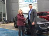 Félicitations Madame Provost pour votre nouvelle CX3 GT2018, Chambly Mazda
