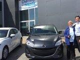 Félicitations à Mme Diane L'éclair pour sa nouvelle Mazda 5 , Chambly Mazda
