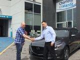 Félicitations M. Rameau pour votre nouvelle Mazda 3 2018, Chambly Mazda