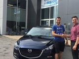 Félicitations à Cedric Turbide pour sa nouvelle Mazda 3 GS 2018, Chambly Mazda