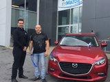 Félicitations à la garderie L'Arbre Enchanteur pour votre nouvelle Mazda 3 2018, Chambly Mazda