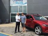 Félicitations à Monsieur Brodeur pour votre nouveau Mazda CX5 2018, Chambly Mazda
