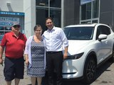 Félicitations à M. et Mme Valade pour votre nouvelle MazdaCX5 2018, Chambly Mazda