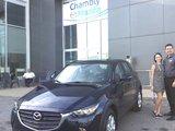 Félicitations à Stéphanie Richer, Chambly Mazda