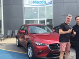 Félicitations à Monsieur Paradis pour sa nouvelle Mazda CX3 2019, Chambly Mazda
