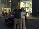 Félicitations à Madame Ostiguy pour sont nouveau Mazda CX5 , Chambly Mazda