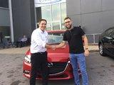 Félicitations à Monsieur Gladu pour sa nouvelle Mazda 3 2018, Chambly Mazda