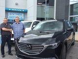 Félicitations à Monsieur Fournier pour son nouveau Mazda CX-9 2018, Chambly Mazda