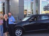 Félicitations Mme Drolet pour votre nouvelle Mazda cx-3 2019, Chambly Mazda