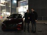 Félicitations à M. Leith pour sa nouvelle Mazda CX3, Chambly Mazda