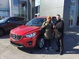 Félicitations à madame Patenaude pour votre MazdaCX5, Chambly Mazda