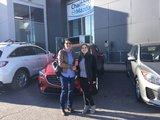 Félicitations à madame Tremblay pour sa nouvelle cx3 2019, Chambly Mazda