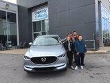 Félicitations à M. Martin pour sa nouvelle CX5 2019, Chambly Mazda